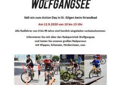 Action Day unserer MTB Freunde vom Wolfgangsee.
